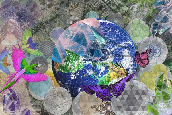 DIGITAL ART AMSTERDAM - CRYSTAL EARTH