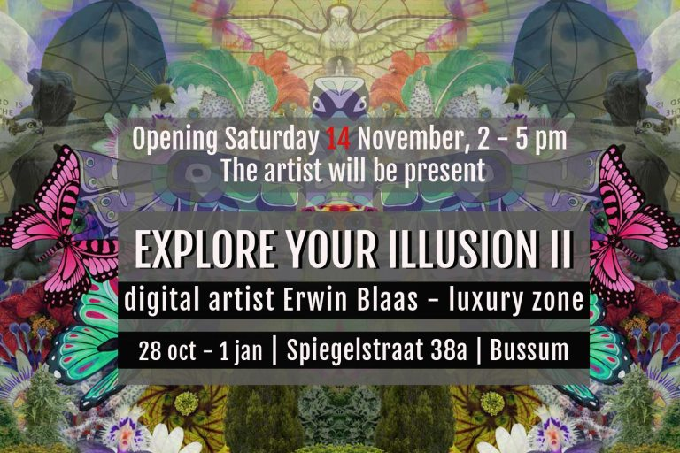 DIGITAL ART AMSTERDAM - Exhibition Explore Your Illusion II