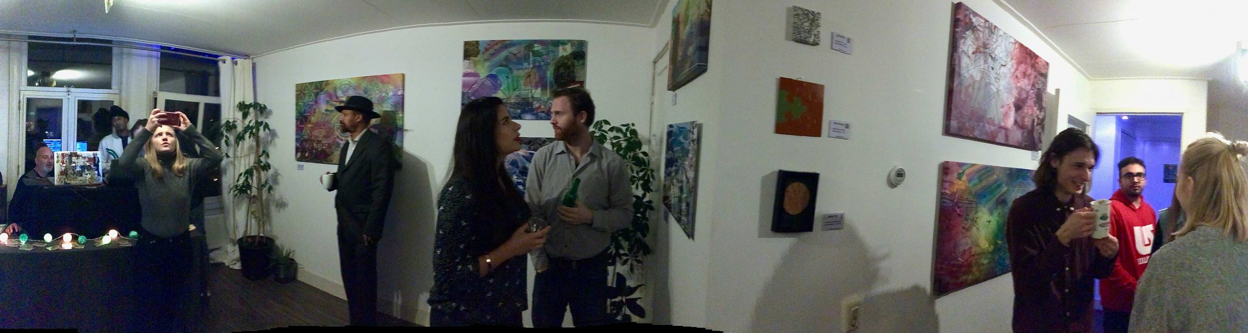 Expo Meet The Artist, Amsterdam