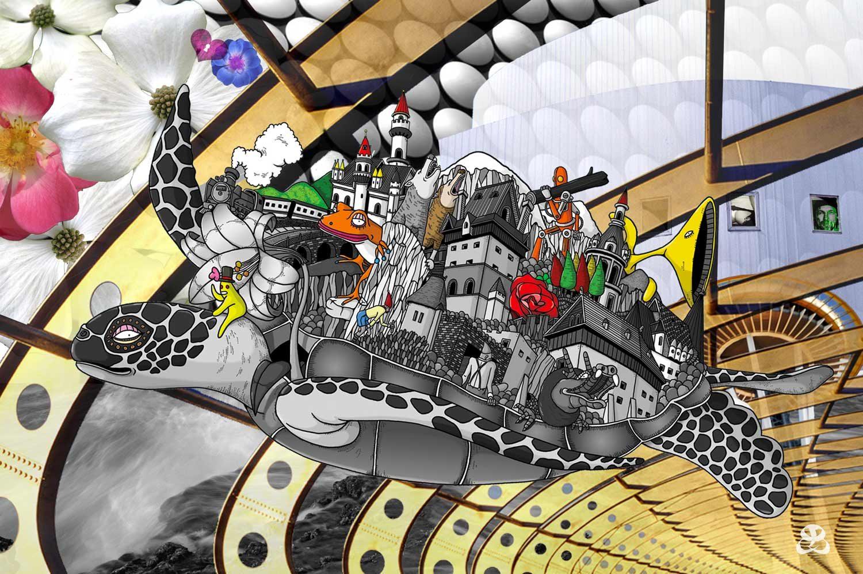 DIGITAL ART AMSTERDAM - TIME TURTLE