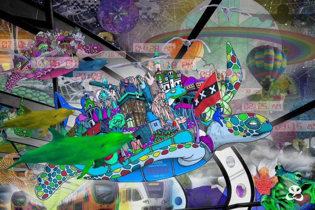 DIGITAL ART AMSTERDAM - TIME TURTLE 2.0