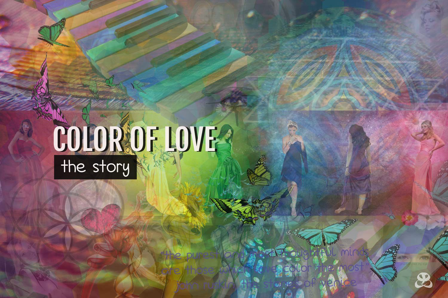 DIGITAL ART AMSTERDAM - Art Story COLOR OF LOVE