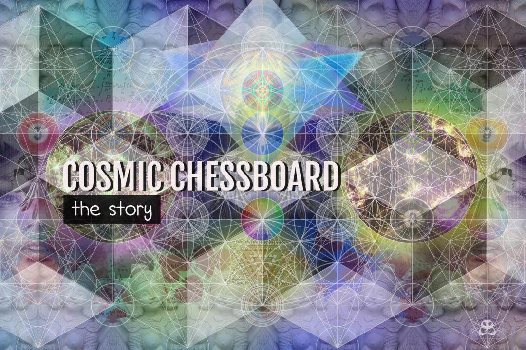 DIGITAL ART AMSTERDAM - Art Story COSMIC CHESSBOARD