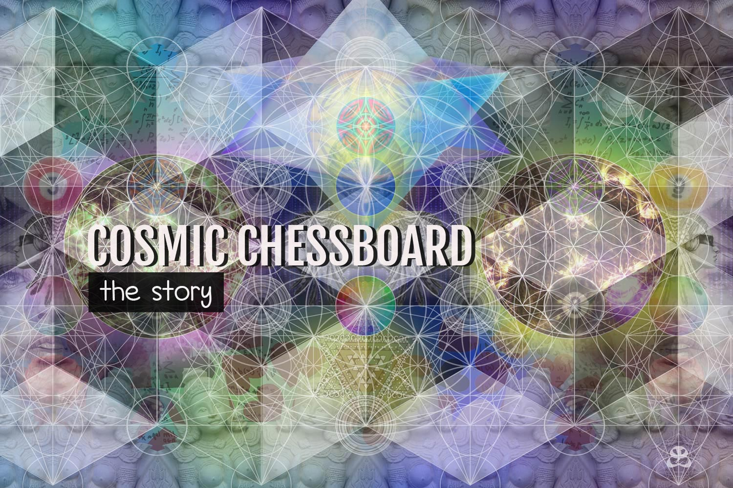 DIGITAL ART AMSTERDAM - Art Story COSMIC CHESSBOARD
