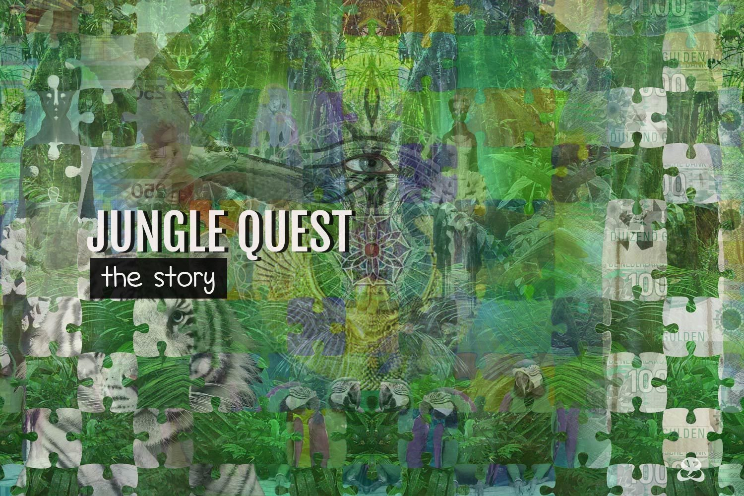 DIGITAL ART AMSTERDAM - Art Story JUNGLE QUEST