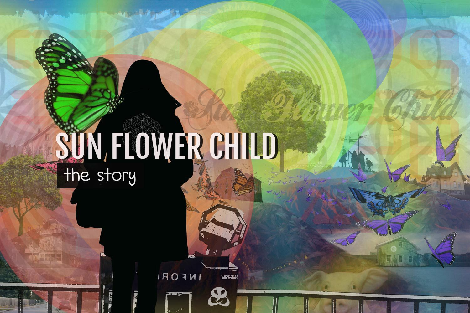 DIGITAL ART AMSTERDAM - Art Story SUN FLOWER CHILD