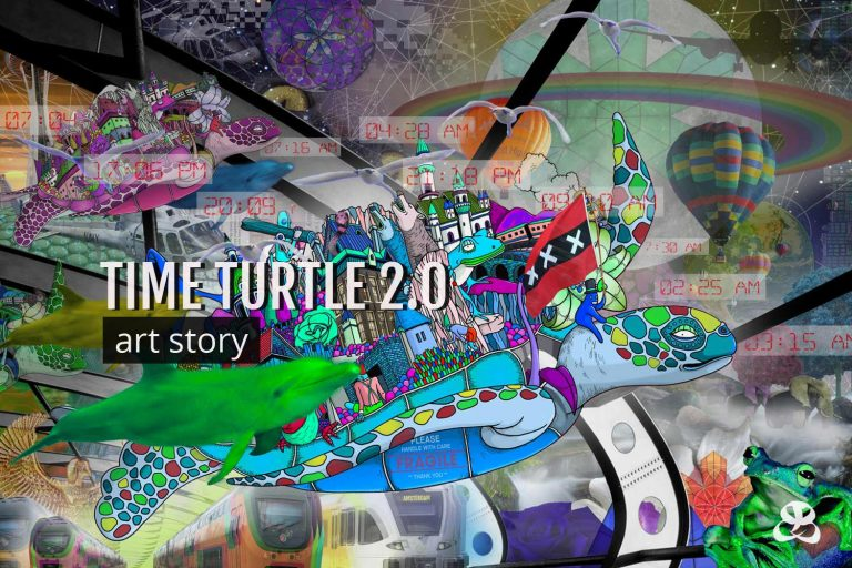 DIGITAL ART AMSTERDAM - Art Story TIME TURTLE 2.0